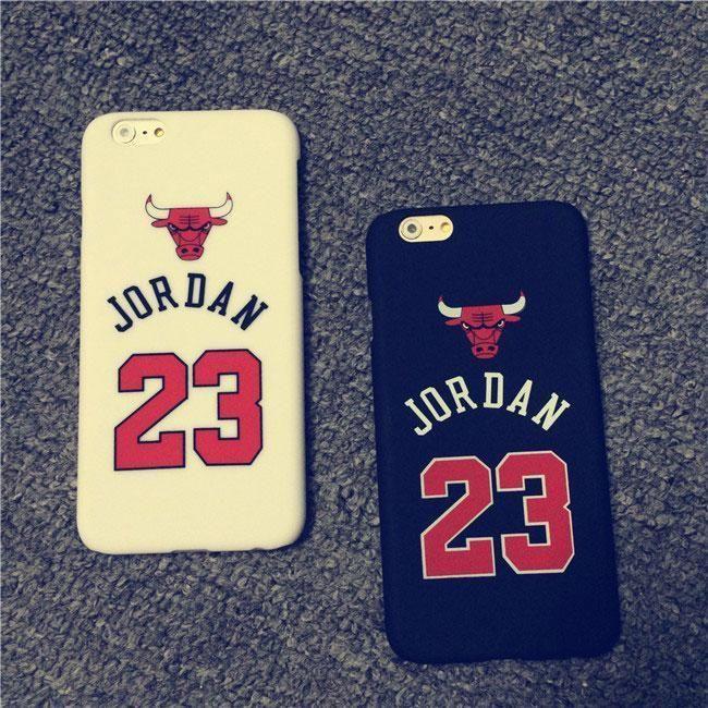 fa0c16456aa1 AJ Air Michael Jordan 23 Chicago Bulls Hard Case for iphone 5 6   iPhone 6  Plus  UnbrandedGeneric