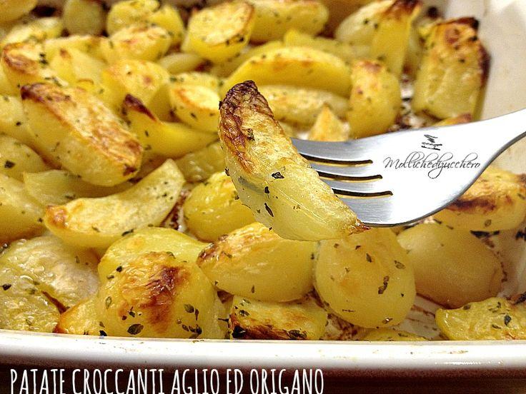 Patate croccanti aglio ed origano
