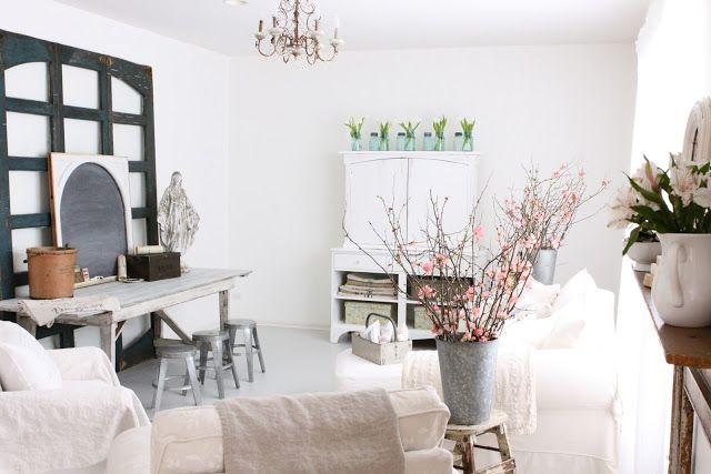 French Larkspur: My Family Room