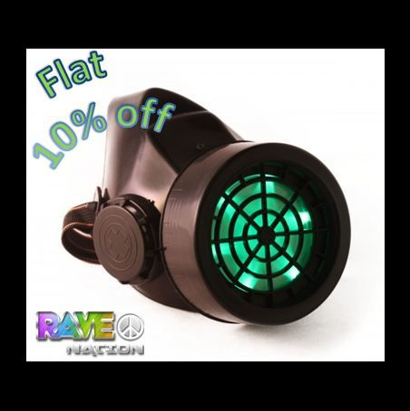 Grab the funky gas masks for rave at the most fascinating prices ever!! Use code:GotGas?1610