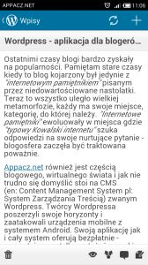 http://appacz.net/wordpress-aplikacja-dla-blogerow-nie-tylko/