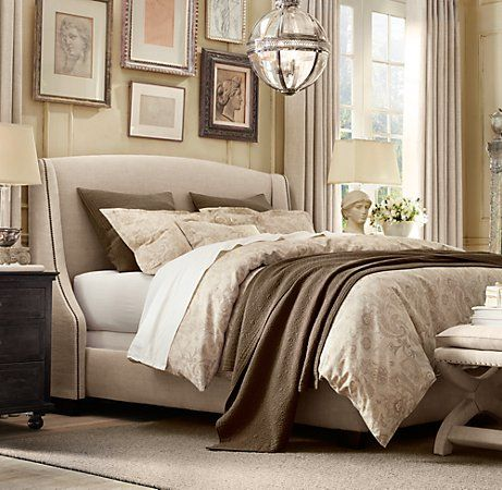 Restoration Hardware Bedding   Heirloom Quilt   Shams in Sable  and Italian  Antiqued Floral Duvet. Top 25 ideas about Mocha Bedroom on Pinterest   Cream couch  Cosy