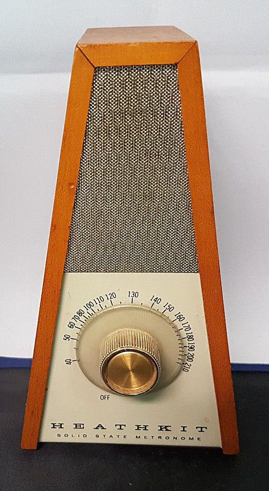 Heathkit Model TD-17 Solid State Metronome  Battery Operated  Works