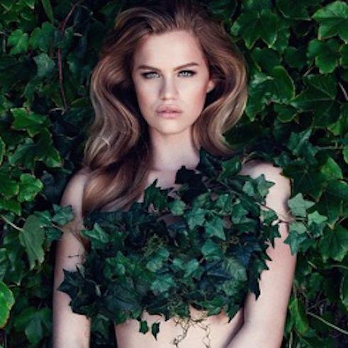 Agnes, la modella svedese troppo grossa per la moda