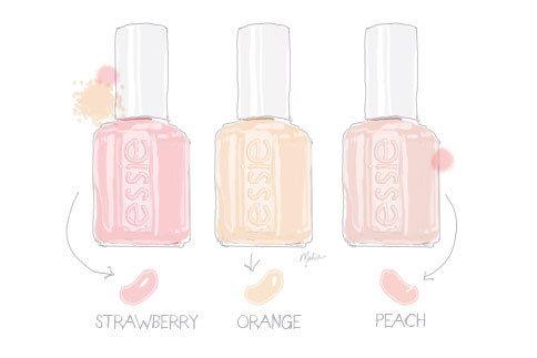 : Essie Nails, Essie Nailpolish, Nails Colors, Spring Colors, Pink Nails, Pastel Colour, Pastel Pink, Pastel Colors, Nails Polish