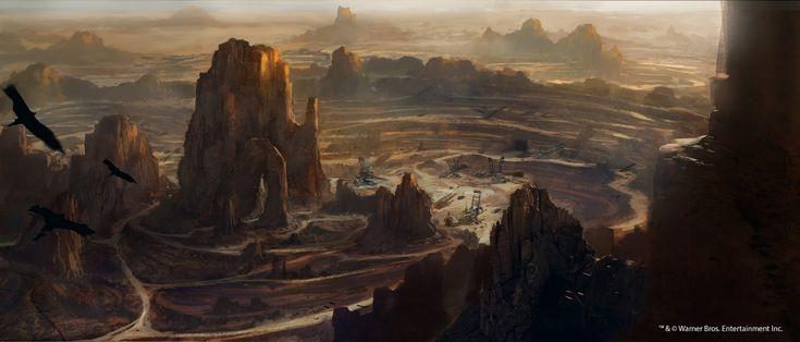 ArtStation - Mad Max the game - Dead Barrens, Martin Bergquist
