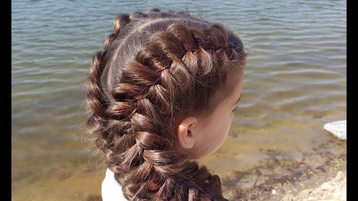 Объемные косы. Обратные французские (голландские). // Voluminous dutch braids. https://www.youtube.com/watch?v=oKuwZMY9Uus