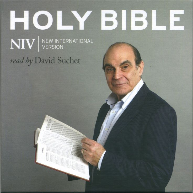 Complete NIV Audio Bible - read by David Suchet