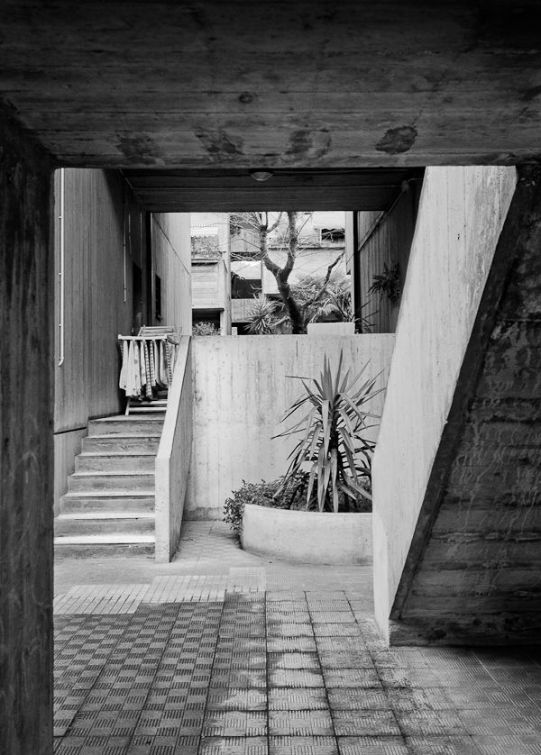 Villaggio Matteotti progettato da Giancarlo De Carlo tra il 1969 e il 1975
