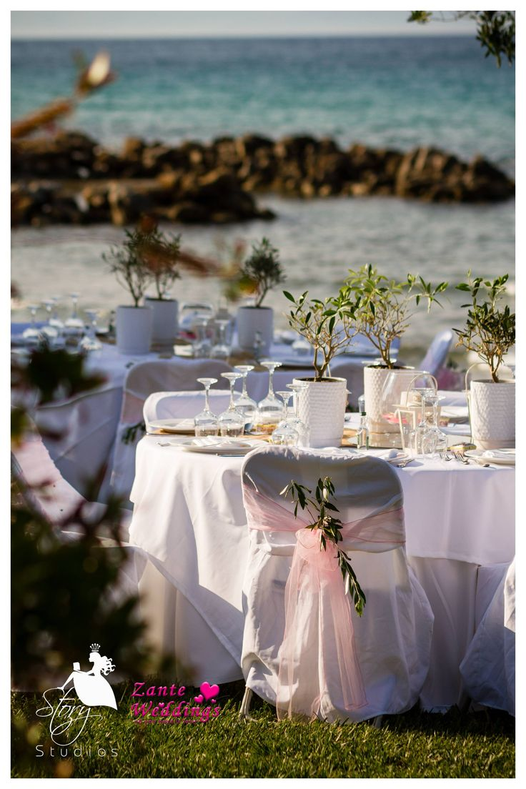 Beautiful table decor for a perfect beach wedding!