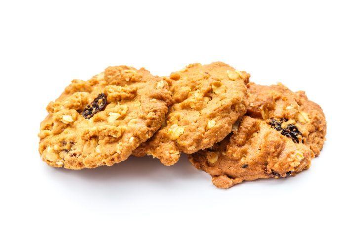 Ovsené sušienky s arašidovým maslom