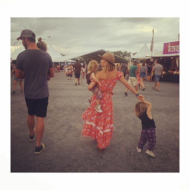 Pin for Later: See How Your Favorite Stars Celebrated Easter Weekend! Elsa Pataky and Chris Hemsworth