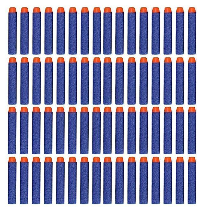 Viment 300Pcs 7 2cm Refill Foam Darts Bullet for Nerf N