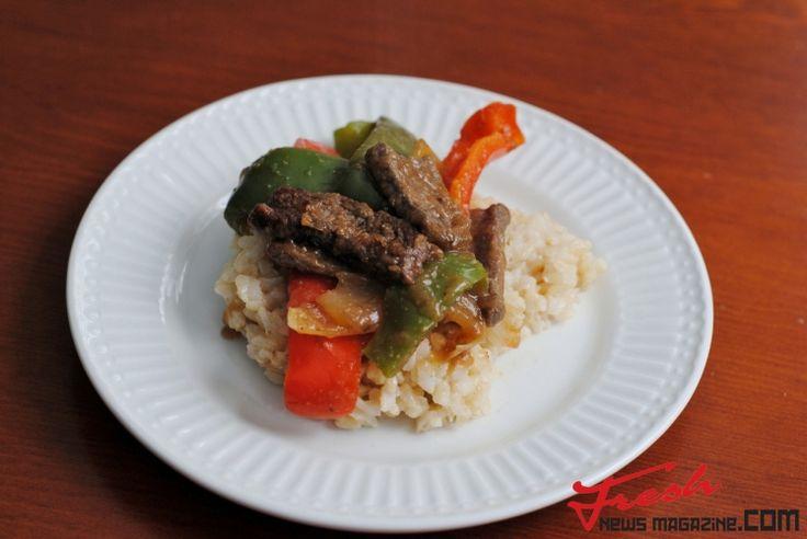 Easy Pepper Steak | Fresh news Magazine. Thats all you need