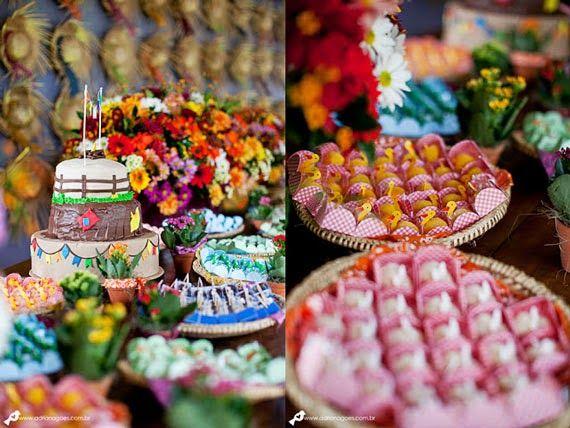 Muitas ideias pra decoração de festa junina - dcoracao.com - blog de decoração