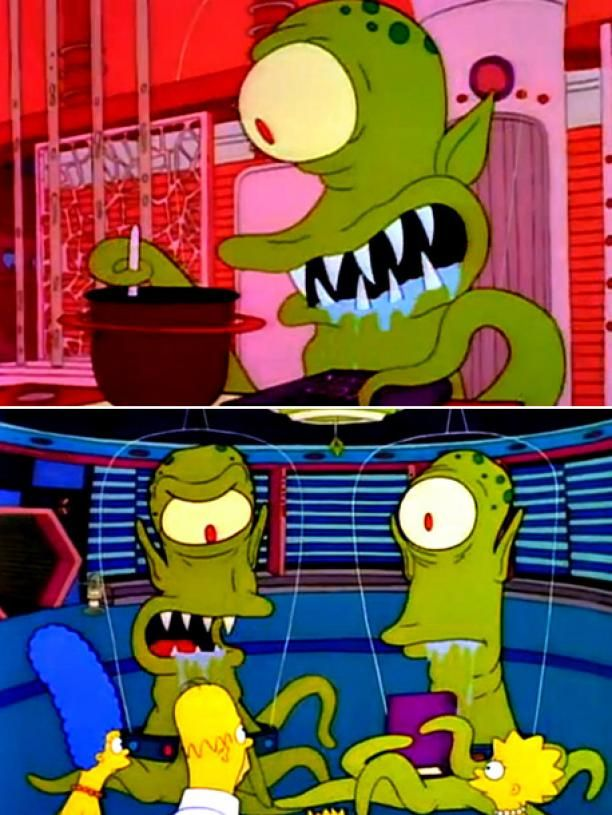 1. HUNGRY ARE THE DAMNED ''Treehouse of Horror I'' (10/25/90) - 'Simpsons' - 'Treehouse of Horror' Top 10! - EW.com
