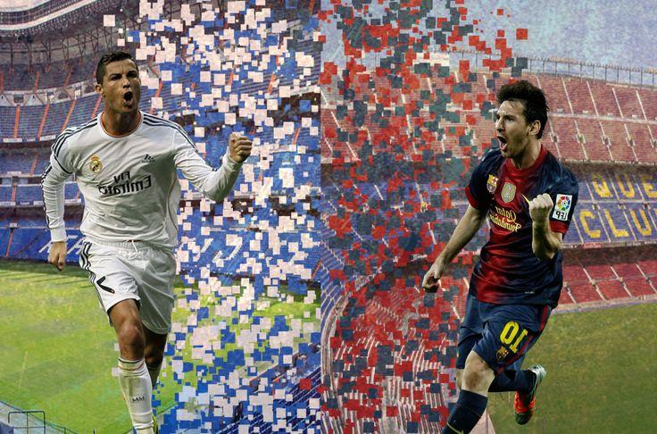 Wallpaper - Cristiano Ronaldo & Lionel Messi