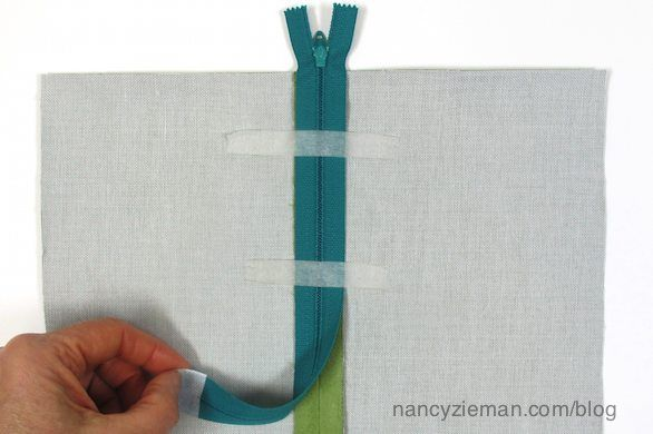 The Absolute Easiest Way to Sew in a Zipper by Nancy Zieman- looks so much easier now!