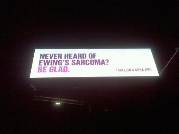 What Ewing's Sarcoma is...