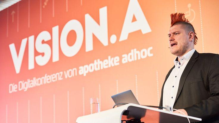 Eröffnet wurde die Digitalkonferenz VISION.A von Spiegel-Kolumnist und Blogger…