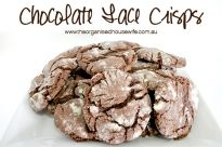 Chocolate Lace Crisps : The Organised Housewife : Ideas for organising and Cleaning your home