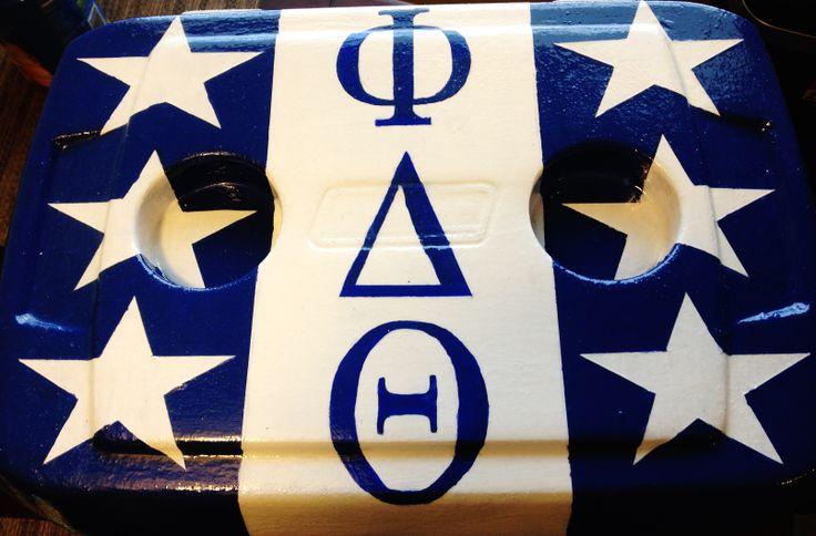 phi delt fraternity cooler idea phi delta theta flag