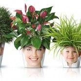 Vasos para flores com detalhes inusitados