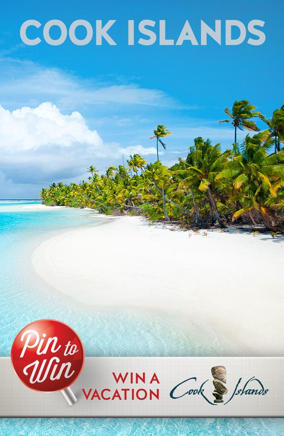 Pin to Win a Dream Vacation to the Cook Islands