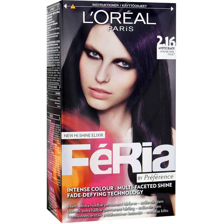 L'Oréal Paris Féria by Préférence 2.16 Intensiv Svart-Violett