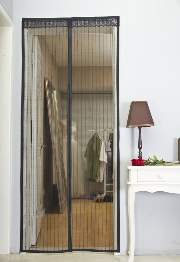 Tension Rod With Mesh Screen Doors : Best images about breeze in bugs out screen door on