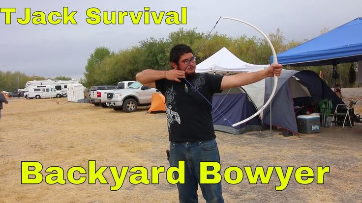 building a bow with the backyard bowyer at rabbitstick