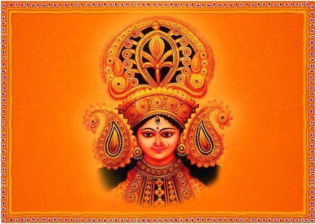 DurgaPuja also referred to as 'Durgotsava' or 'Sharadotsav' that celebrates worship of the Hindu goddess Durga.  Durga Puja festival marks the victory of GoddessDurga over the evil buffalo demon Mahishasura and thus epitomises the victory of Good over Evil.  Wish you a Happy Durga Puja!