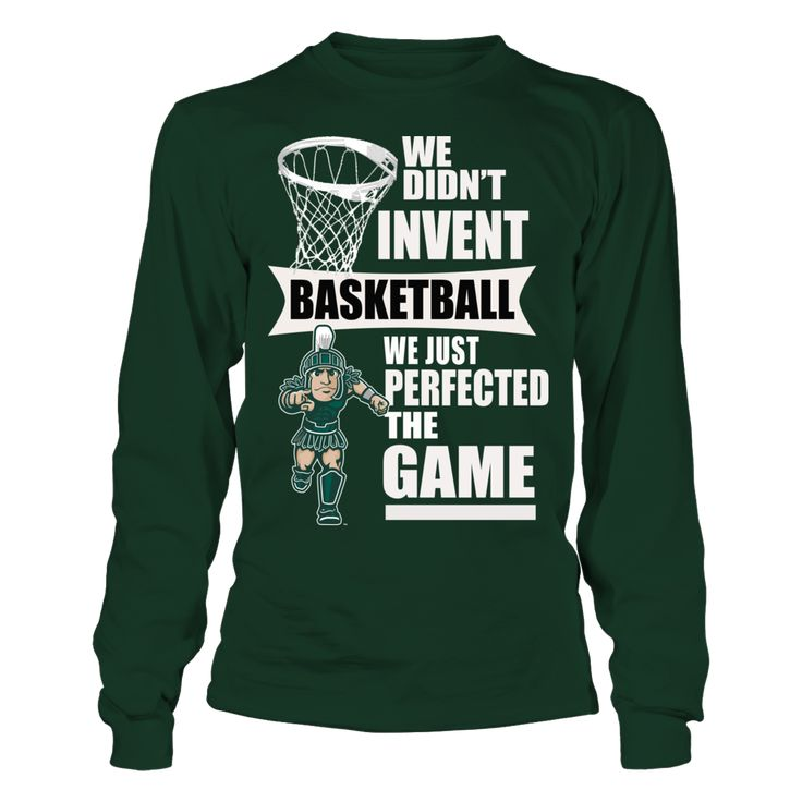 Michigan State Spartans Basketball Sweatshirt and Tees T-Shirt, OFFICIALLY LICENSED Michigan State Spartans basketball sweatshirt and Tee-Shirts Perfect gift for any Michigan State University fan to wear at any NCAA football game or event. Make everyone else in the football stadium jealous when it comes to Michigan State Football. Great Michigan State fan... The Michigan State Spartans Collection, OFFICIAL MERCHANDISE  Available Products:          Gildan Long-Sleeve T-Shirt - $33.95 District…