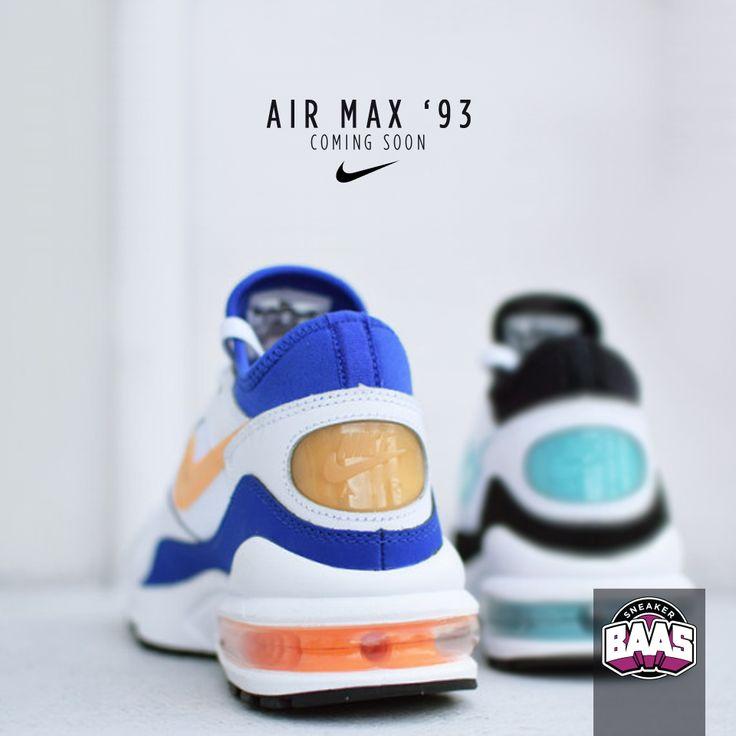 "Nike AM '93 ""Menthol & Citrus""   Coming soon, stay in touch with the twitter, fb and the site!   www.sneakerbaas.nl   #NIKE #AIRMAX #BAASBOVENBAAS #SNEAKERBAAS"