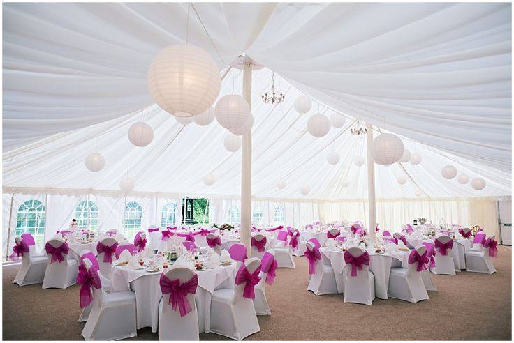 Prested Hall Wedding Marquee