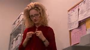 Kitty, arrested development. love her hair, glasses, her clothes, and her character.