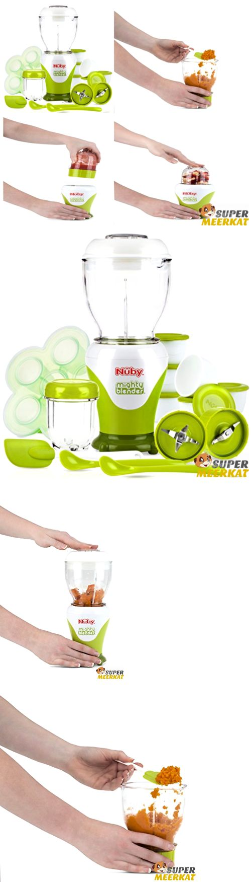 Food Grinders and Blenders 32866: Blender Food Mill Steamer Mixer Machine For Baby Feeding Fruit Veggie Smoothie -> BUY IT NOW ONLY: $66.62 on eBay!