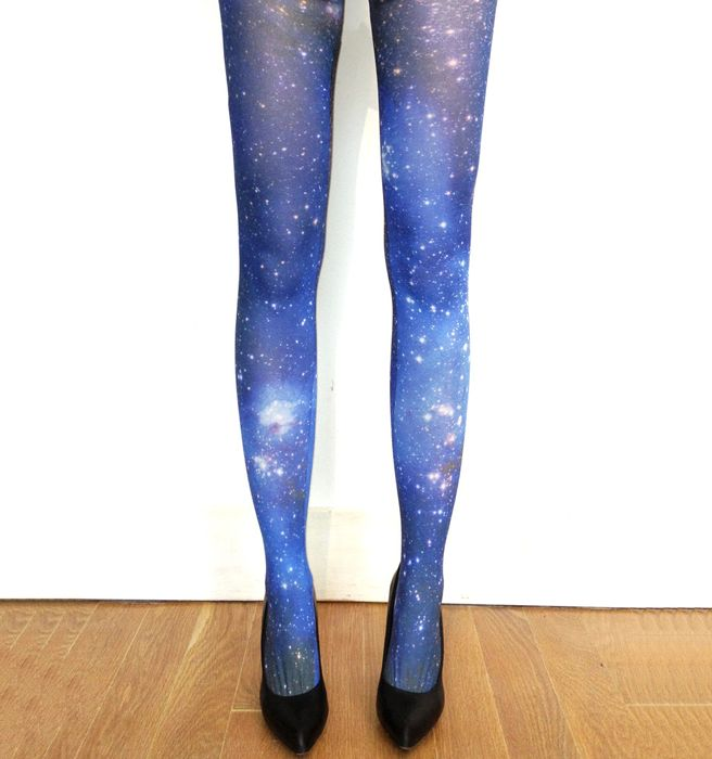 Cloud Galaxy Tights - Featured Goods | Uncovet