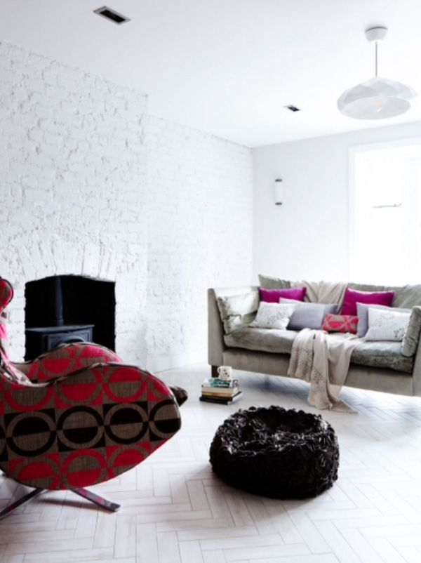 """This living room is from our feature """"Live Love London"""""""