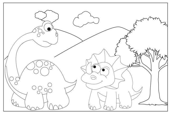 Dinosaur Animal Coloring Sheets For Kids 763449 Coloring Pages Design Bundles Dinosaur Coloring Pages Coloring Sheets For Kids Dinosaur Coloring