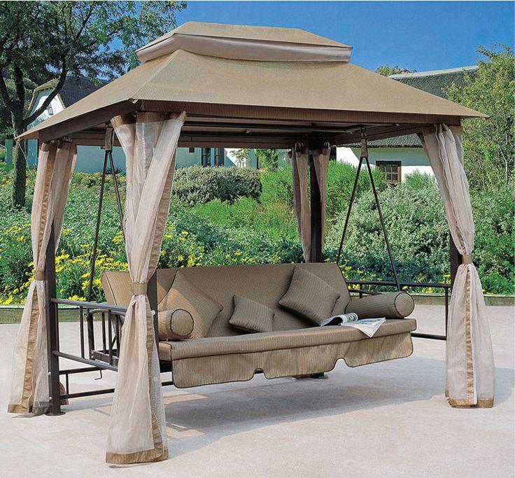 Oltre 25 fantastiche idee su dondolo da giardino su - Dondolo giardino ...