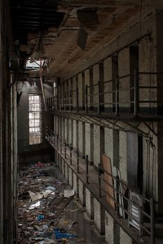 Abandoned in Newark, NJ - the Old Essex County Jail.