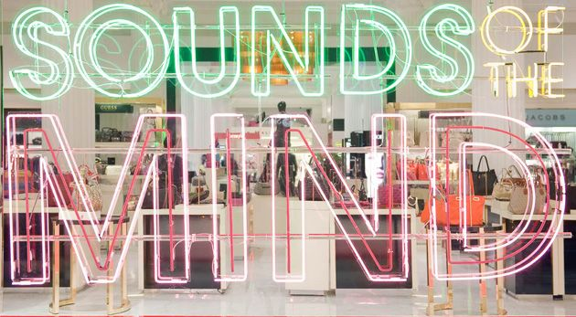 SoundsOfTheMind Selfridges Launch Sounds of the Mind Window Displays