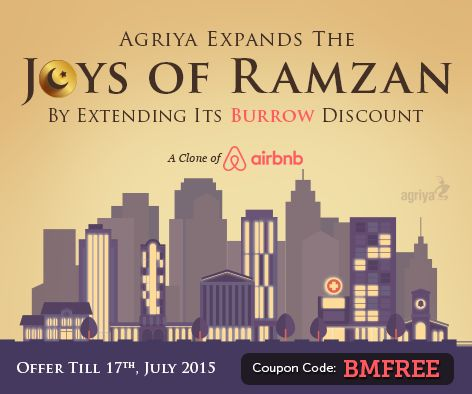 Enjoy the Ramzan with the fullest joy,Agriya is happy to delight his global clients by extending the Burrow -clone of ‪#‎airbnb‬ offer till July 17th, 2015. This offer is extended for the on behalf of Ramzan and entrepreneurs, who missed the chance to enter the vacation rental industry. To know more: http://www.agriya.com/products/airbnb-clone