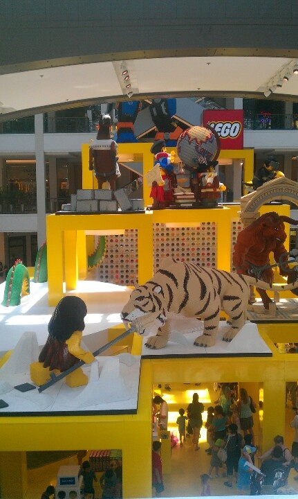 Mall of America Lego land... Awesome