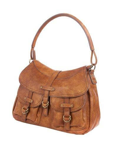 TAMARIS Handtasche im Vintage Look in Grün online kaufen (9572097)   P&C Online Shop