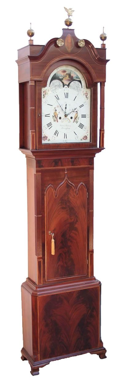 9 Best Images About Antique Grandfather Clocks On