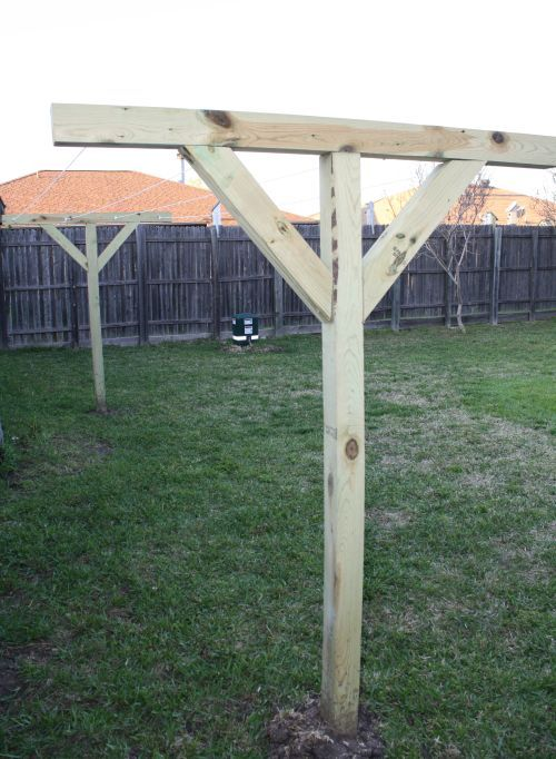 diy clothesline gardening farm wishful thinking