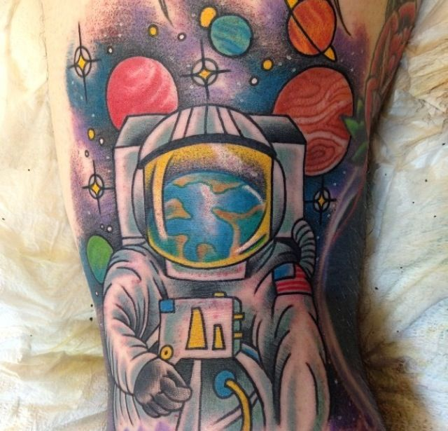 neil armstrong tattoo - photo #40