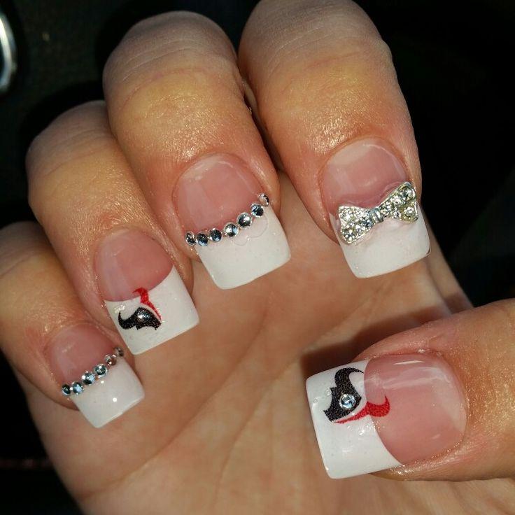 My Houston Texans Nails